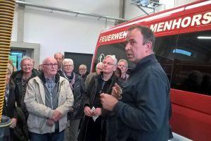 """Besichtigung """"Neue Feuerwehrwache Hasbergen"""""""