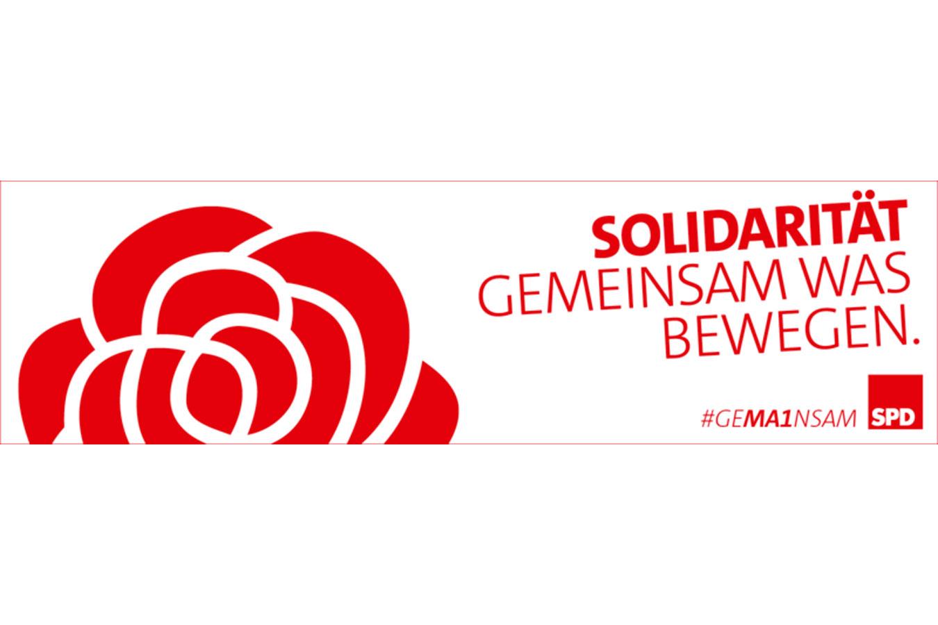 Solidarität. Gemeinsam was bewegen.